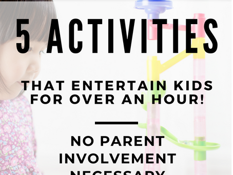 Parent Break | 5 Educational Activities Kids Will Play for Hours