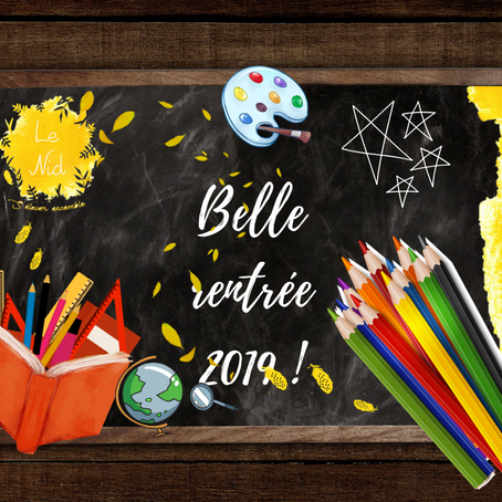 Newsletter de Septembre 2019