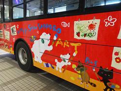 新札幌ラッピングバス