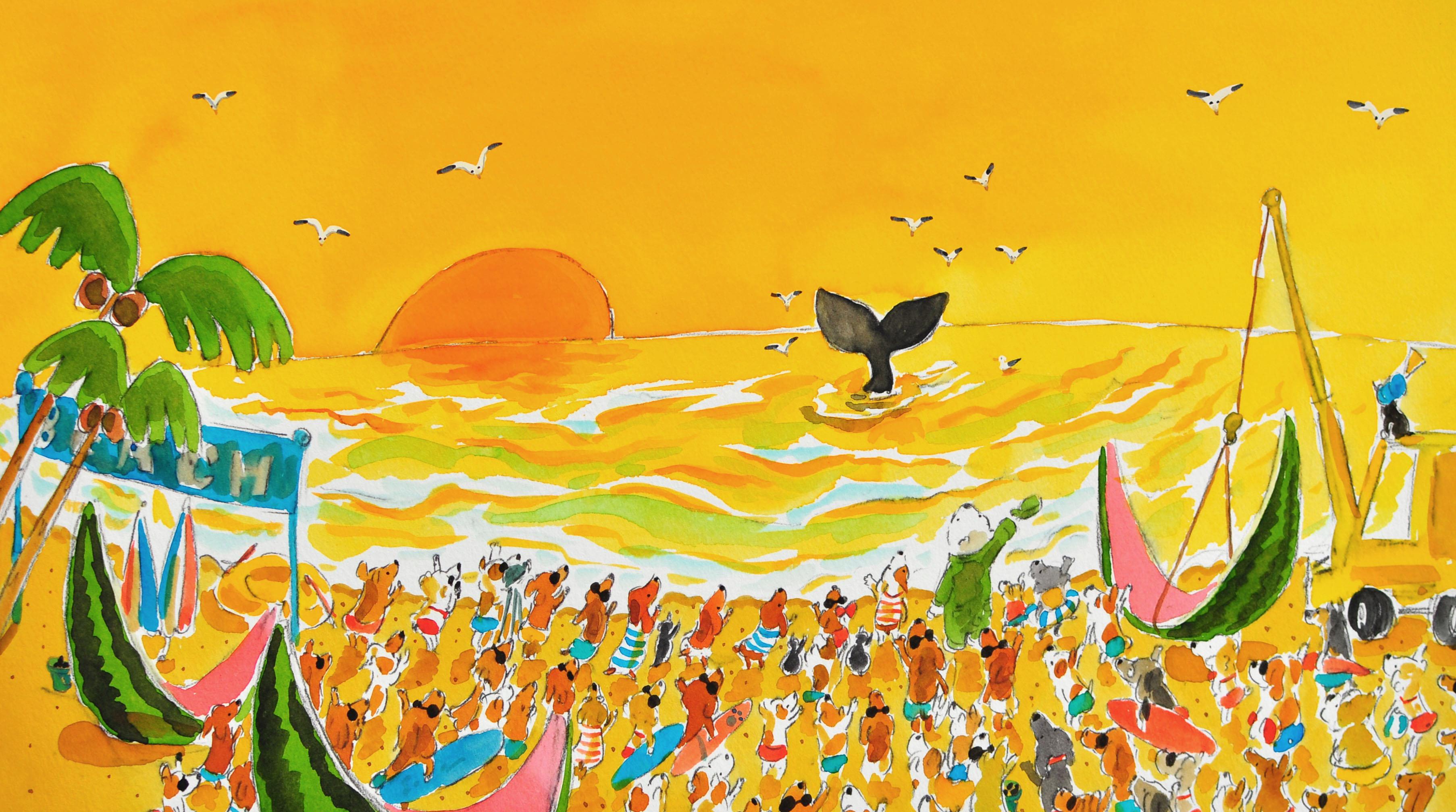 絵本「ランディーとおおきなスイカ」札幌地区トラック協会