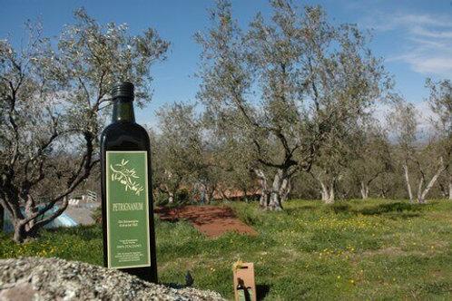 Confezione da 6 bottiglie olio extravergine d'oliva biologico da 0.75 lt.