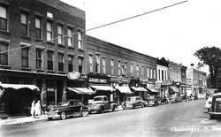 East Main Street 1958
