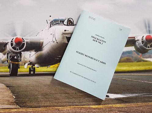 Avro Shackleton Flight Reference Cards