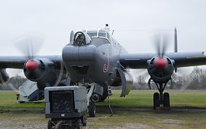 Avro Shackleton Mk.3 at Gatwick (Michael Snow)
