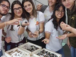 Zoologia de Invertebrados -                                                    Os alunos da 2ª Série