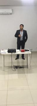 Na oportunidade, tivemos a presença da Gestora da Controladoria / Responsável pelo SGQ do Grupo Guardiã Érika Camargo visando contribuir com experiências práticas do SGQ e também do Diretor Executivo Désio Campos Filho demonstrando a importância desse processo para a empresa.