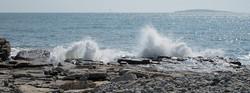 Waves at Seawall