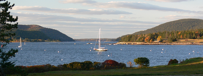 Somes Sound at sunset