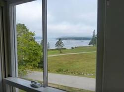 Bedroom view overlooking the harbor