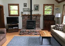 Living room hearth