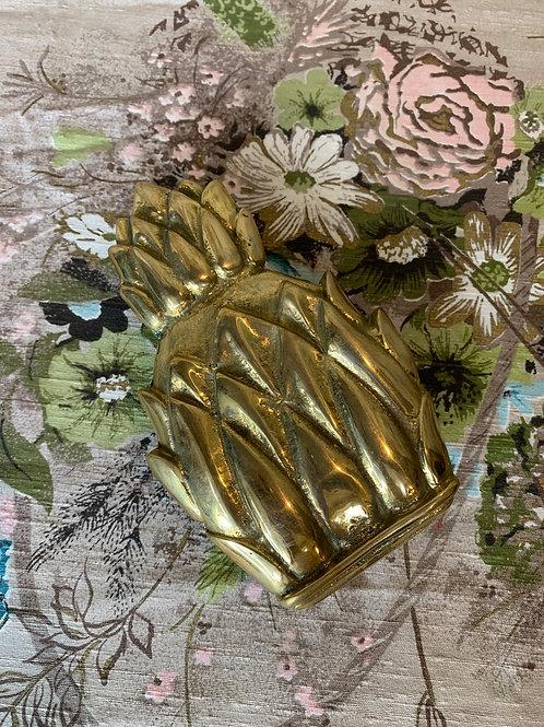 MCM Pineapple Brass Door Knocker