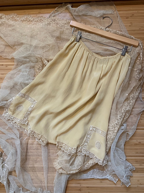 1920s French Silk Tap Pants Bloomers