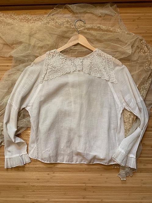 Edwardian Cotton Lace Blouse