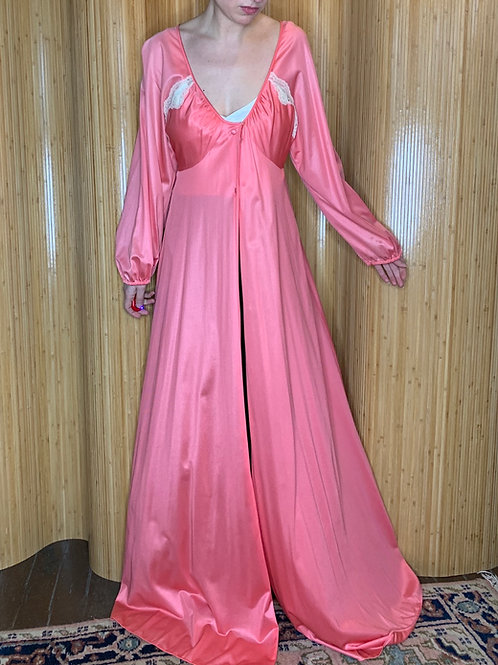1950s Pink Dressing Gown