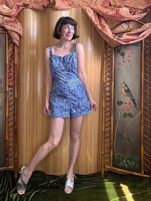 1950s/60s Summer Romper Playsuit