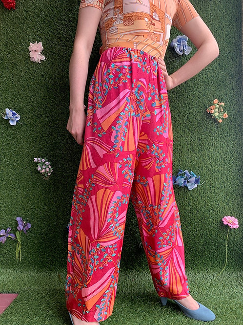 1960s Psychedelic Lounge Pants