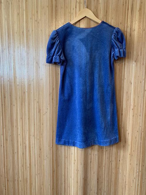 60s Button-back Mini Dress