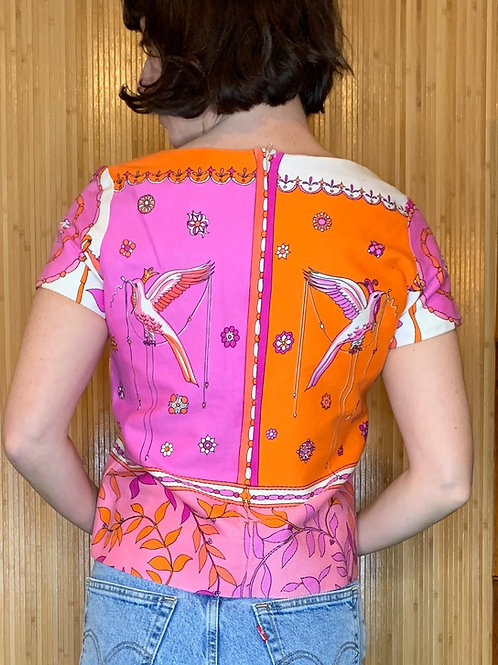 1960s Saks Fifth Ave Top