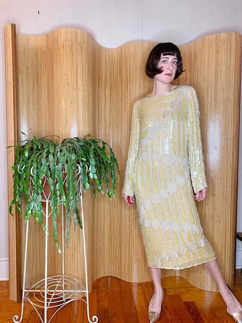Deco Beads Flapper Dress