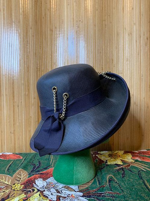 "Lord & Taylor ""Adolfo Realites"" Straw Hat"