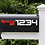 Thumbnail: Mailbox Numbers, set of two