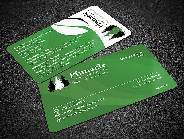 business card design custom marketing