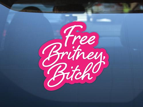 Free Britney Vinyl Decals