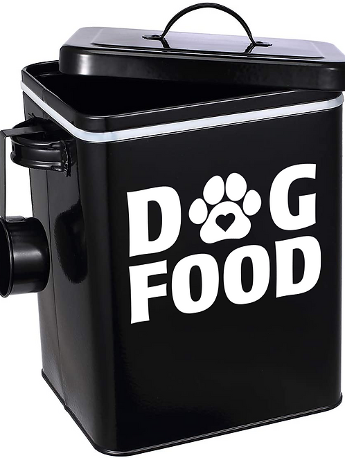 Dog Food/Treats Bin Decal Sticker