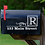 Thumbnail: XL Set of 2 Monogram Vinyl Mailbox Decals Sticker Personalized With Address