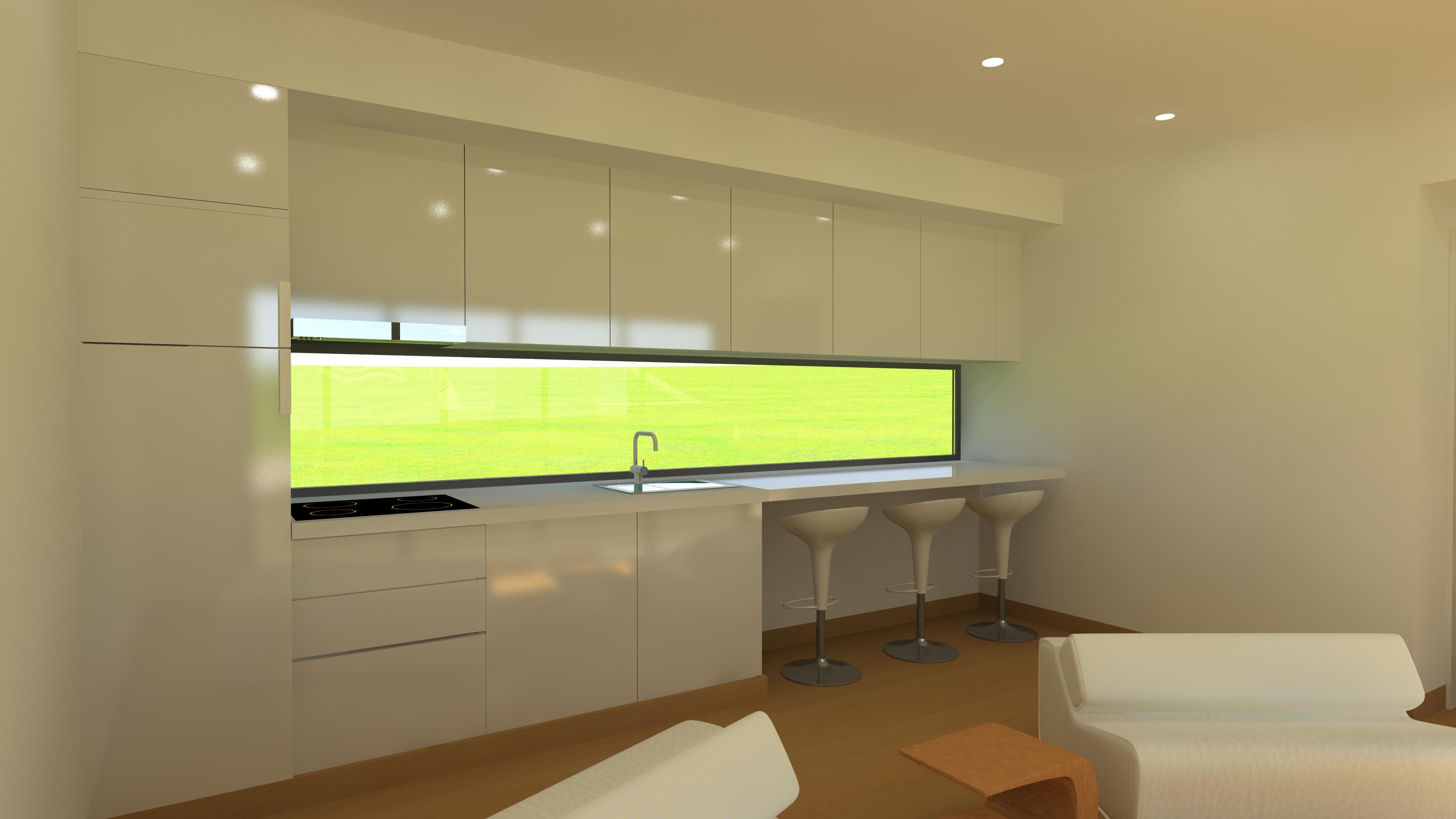 Bungalow T1 Interior