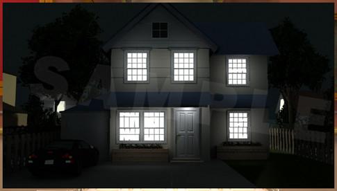 Double-storey detached house