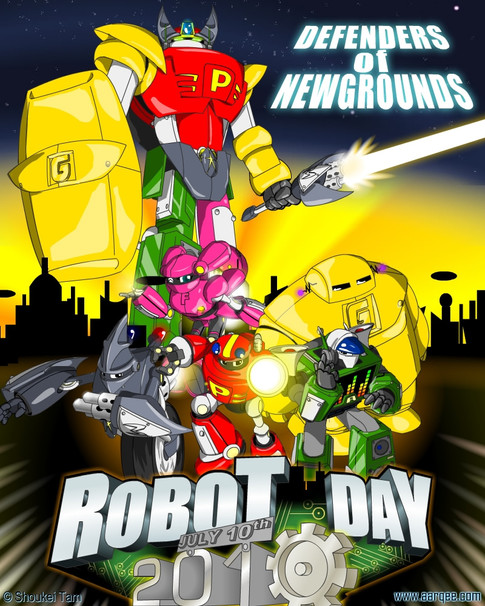 Newgrounds Robot Day 2010