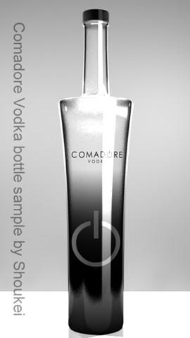 Vodka bottle (black)