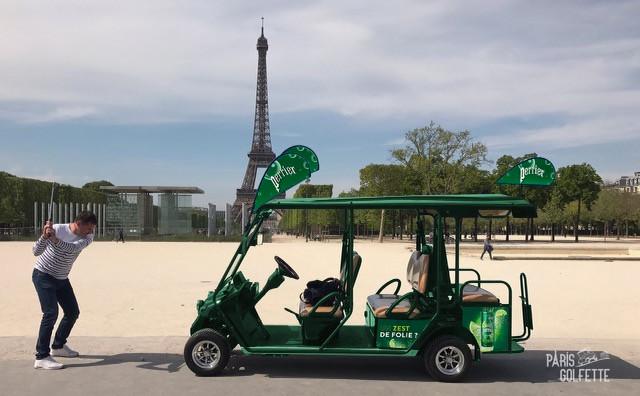 Golfette covering Paris Golfette 2