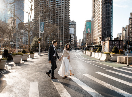 Intimate New York City Wedding
