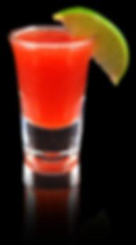 Toro Rojo, Red Bull Shot, Red Bull Mocktail, Energy Drink Shot, Zero Proof Mocktails