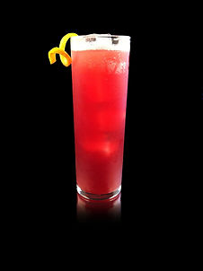 Cranberry Collins, Whiskey Collins, Thanksgiving Drink, virgin collins, non-alcoholic whiskey, virgin whiskey, cinnamon drink