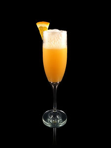 Dreamsicle Mimosa, Non alcoholic champagne, nonalcoholic mimosa, mimosa, creamy mimosa