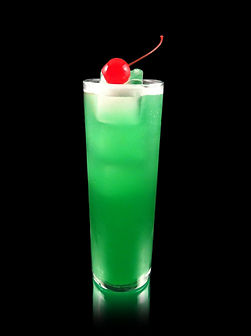 Mary Jane drink, Liquid Marijuana, Melon mocktail, coconut mocktail, pineapple mocktail