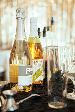 Zero Proof Mocktails, non-alcoholic, mocktails, champagne, classy drinks