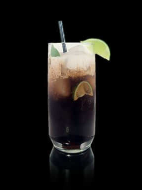 Dirty Cuba Libre, Cuba Libre, Dirty Coke, Rum n coke, Rum and Coke