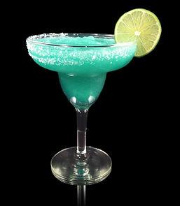 Cozumel Margarita, Margarita Mocktail, Non-alcoholic margarita, blue margarita