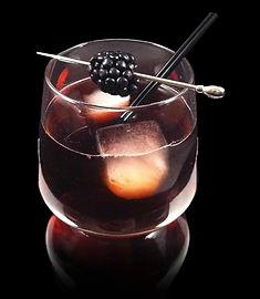 Iron Will, Ironport Drink, Iron Will Mocktail, Rocks mocktail, Blackberry Drink