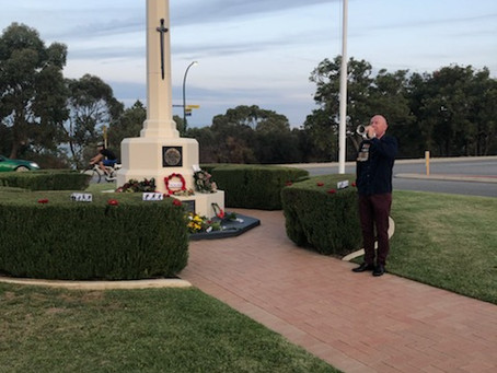WASWE at Anzac Day 2020