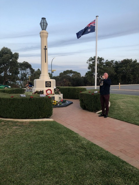 Anzac Day 2020 - Barry Telfer