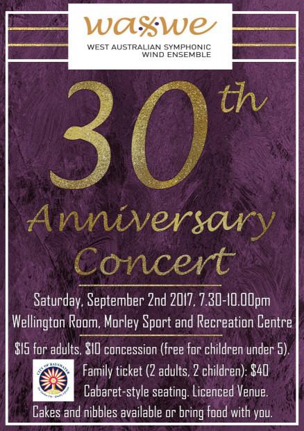 30th Anniversary Concert