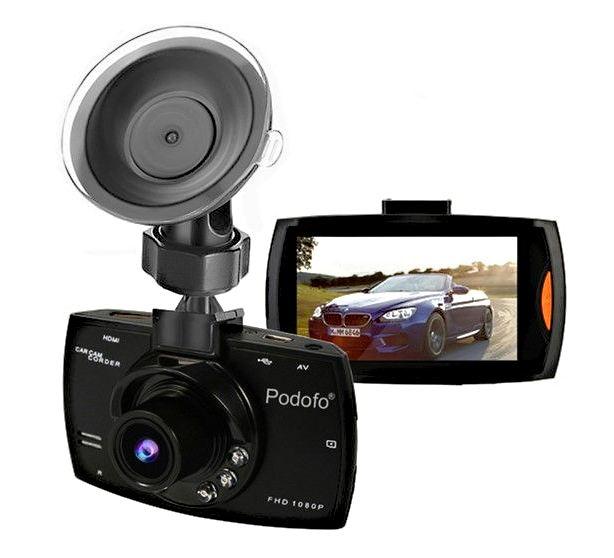 Caméra DVR de voiture - Full HD 1080P 140 degrés Dashcam