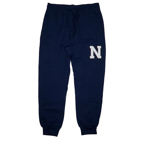 NEW LIFE APPARELL N logo SWEAT PANTS