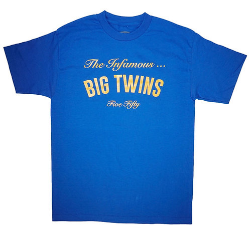 BIG TWINS Official Welcome to... Short Sleeve T-shirts