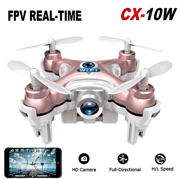 Mini drone de poche CX-10W CX